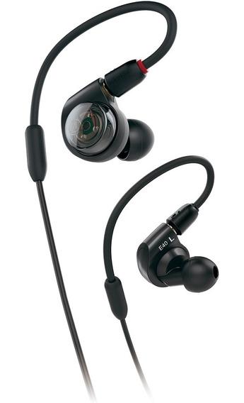 Ath-e40 Fone De Ouvido Intra-auricular In-ear Audio Technica