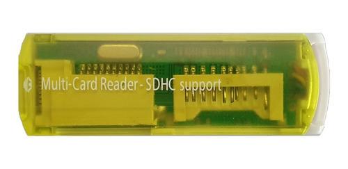 Imagen 1 de 4 de Lector Memoria Usb Micro Sd Universal 2.0 480mbps Windows