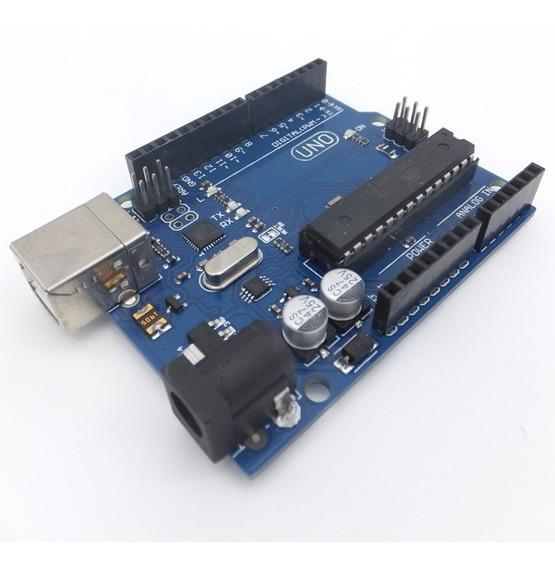 Arduino Starter Kit Mínimo Uno Cables Leds Sensors + Libros