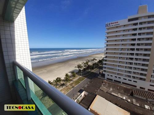Imagem 1 de 19 de Imperdível!  Frente Ao Mar. 02 Dormitórios Sendo 01 Suite-  Jardim Imperador Em Praia Grande. - Ap6478