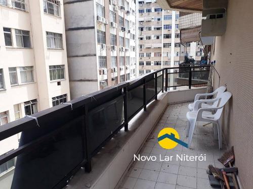 Imagem 1 de 15 de Excelente Flat Com Serviço,  Andar Alto Na Melhor Rua Comercial De  Icaraí. - 78