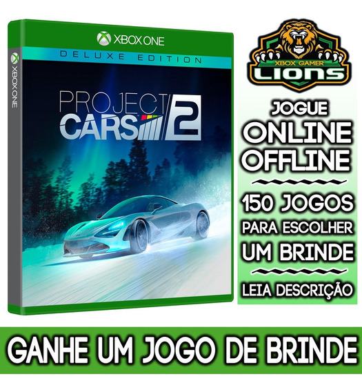 Project Cars 2 Deluxe Edition Xbox One + Brinde