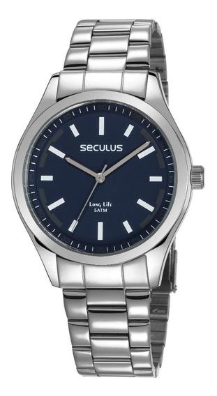 Relógio Seculus Masculino 28979gosvna3