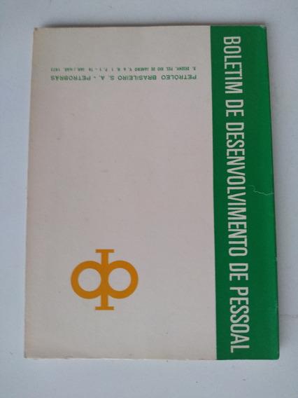 Livro - Boletim De Desenvolvimento Pessoal 76 Petrobrás 1973