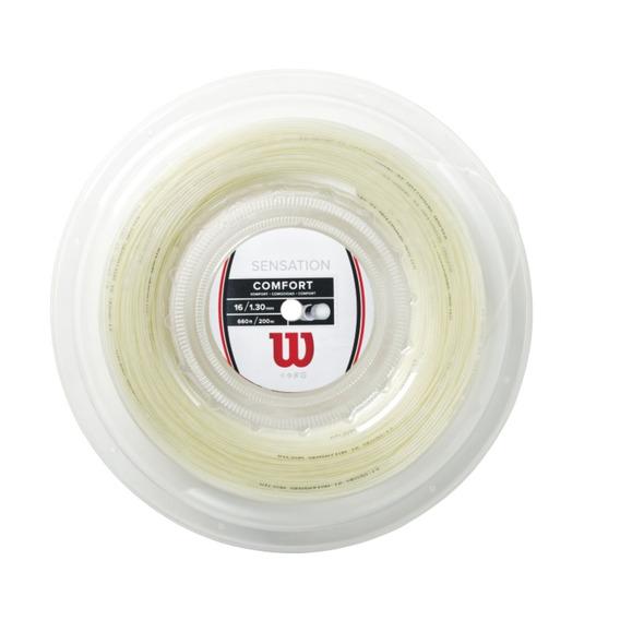 Cuerdas Unisex Wilson - Sensation 16 Reel Blanco - Tenis