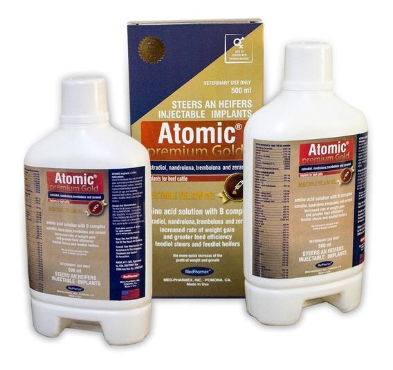Combo Atomic Premium Gold+triomax