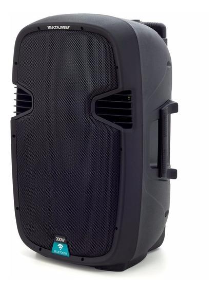 Caixa De Som Portátil Amplificadora Bluetooth Multilaser - S