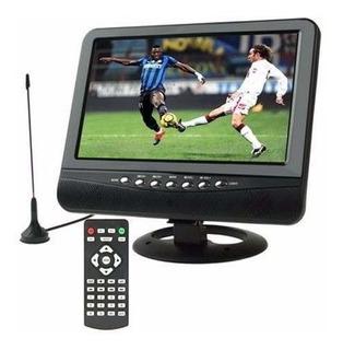 Televisor Portatil Con Tdt2 De 9 Pulgadas Silvermax