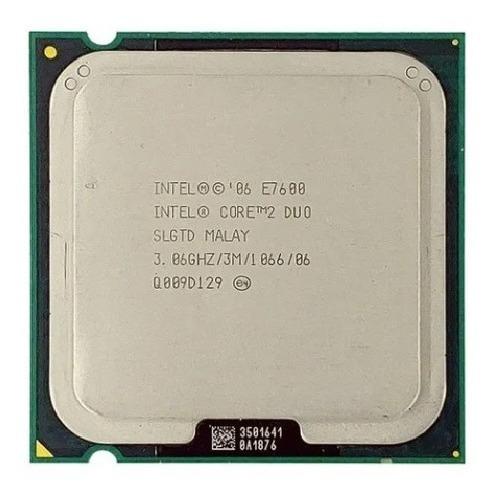 Processador Core 2 Duo E7600 3,06ghz 3mb 1066 Lga 775