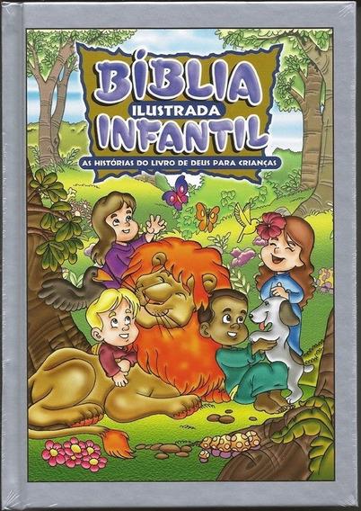 Kit Com 05 Bíblias Ilustradas Infantil Para Revenda Atacado
