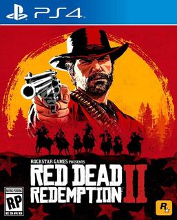 Red Dead Redemption 2 Ps4 - Juego Fisico - Cjgg