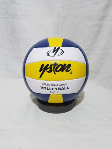 Balon De Volleyball Yston #5 Cosido Mj5181 Azul/amarillo L3o