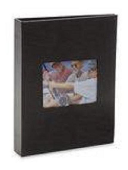 Album 200 Fotos 10x15 Black Preta C/ Janela 750 Ical