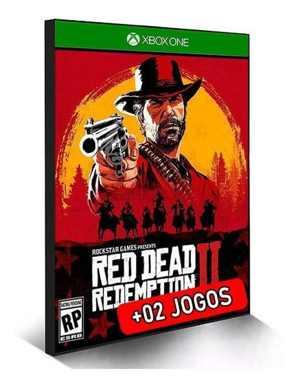 Red Dead Redemption 2 Xbox One Midia Digial + Brinde