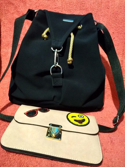 Morral + Billetera Mujer Imperdible