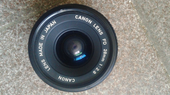 Lente Canon 28mm F:2.8 Mecânica
