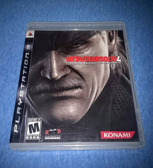 Metal Gear Solid 4 Guns Of The Patriots Ps3 Frete R$10