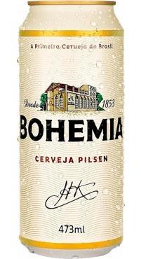 Kit Com 12 Unid Cerveja Bohemia 473ml Lata