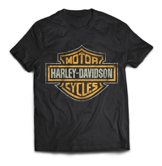 Camiseta Harley Davidson Motorcycles Motero Rock Activity