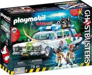 Ecto 1 Ghostbusters Playmobil 9220 Auto Cazafantasma
