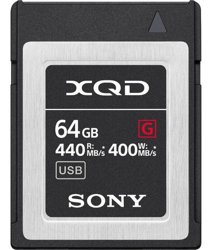 Memoria Xqd Sony 64gb G-series 440mb/s Original Lacrado