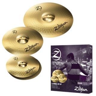 Set Platillos Zildjian 14 16 20 Plz4pk Pack / Open-toys 41