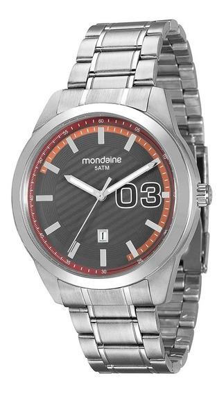 Relógio De Pulso Masculino Mondaine 99099g0mvna1