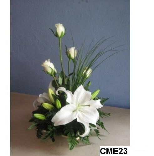 Centros De Mesa Con Flores Naturales Centros De Mesa Boda