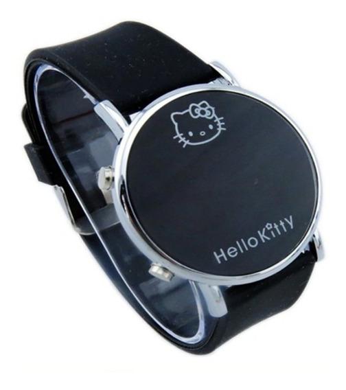 Relógio Para Criança Adolescente Hello Kitty Led - Novo