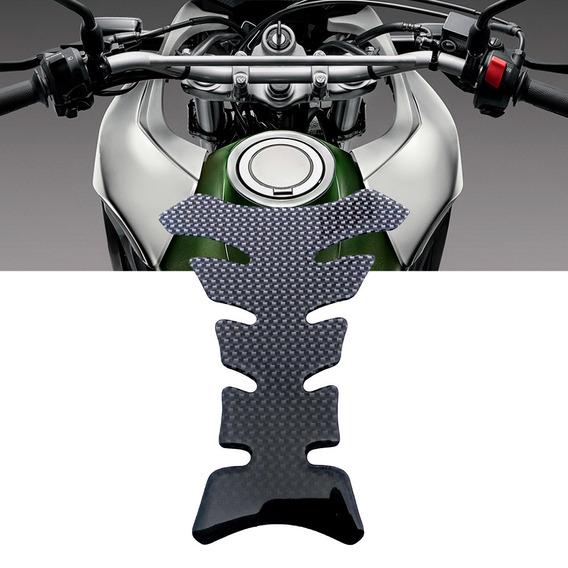 Adesivo Protetor Tanque Tank Pad Fibra Carbono Preto Ducati