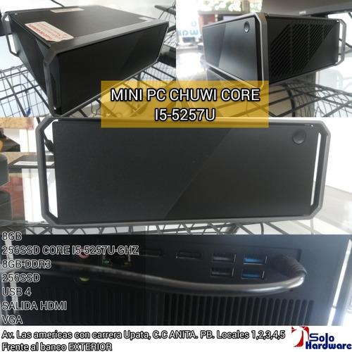 Imagen 1 de 1 de Mini Pc Chuwi Core I5-5257u