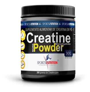 Creatina Pure Micronized Powder 300gramas Sports Nutrition