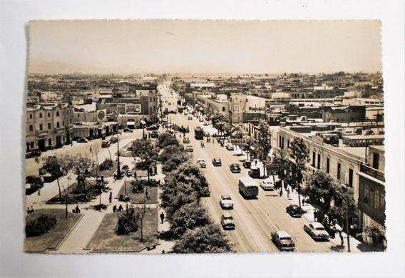 Postal Callao Peru Av. Saenz Peña Plaza Casanave Circa 1955