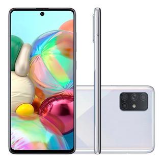 Celular Samsung Galaxy A71 A715 Dual 128gb 6gb Ram Prata