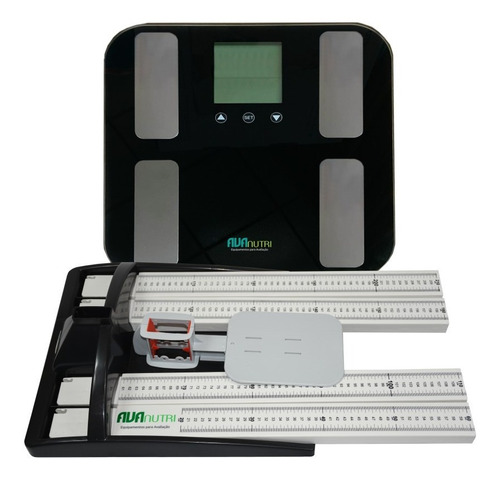 Estadiômetro Portátil + Balança De Bioimpedância Avanutri