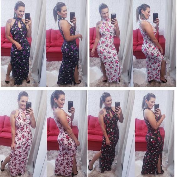 Kit 10 Vestido Pra Revenda Atacado Suplex Feminino Luxo