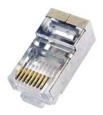 Plug Modular 8x8 Cat.5e Blindado Pacifc Network (unidade)