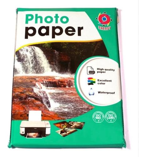 Papel Fotográfico 200 Gramos Glossy A4 100 Hojas