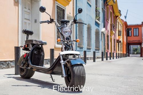Imagen 1 de 7 de Moto Electrica Scooter E-green Electricway