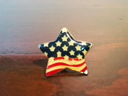 Pin Estrella Banders De Estados Unidos Usa