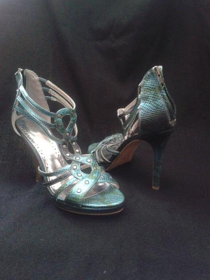 Zapatos De Fiesta Stilettos.poco Uso. Importado Oportunidad