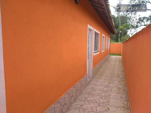 Casa Na Praia Com 2 Dormitórios À Venda Por R$ 255.000- Vila Verde Mar - Itanhaém/sp - Ca0330