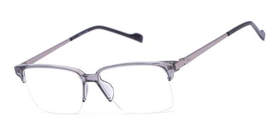 Armação Oculos Ogrife Og 1764-c Masculino Acetato Metal