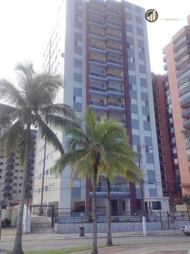 Apartamento Residencial À Venda, Vila Guilhermina, Praia Grande - . - Ap2755