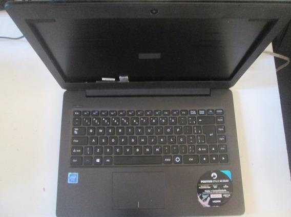 Notebook Positivo Stilo Xc3620 Com Defeito Liga Sem Imagem