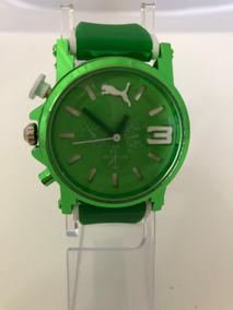 Reloj Puma Ultrasize Verde Limon Silicon