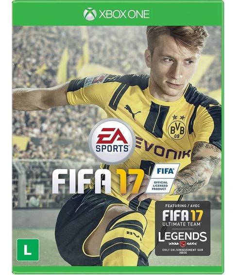 Fifa 17 Br Xbox One Original Lacrado Midia Fisica