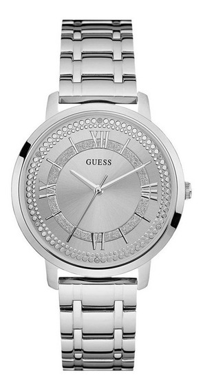 Relógio Guess Feminino Analógico Prata 92635l0gdna1 W0933l1