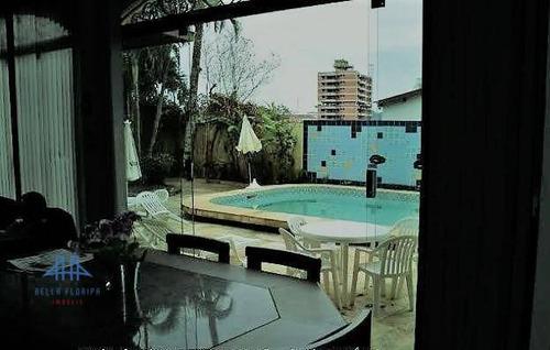 Imagem 1 de 14 de Casa Com 4 Dormitórios À Venda, 360 M² Por R$ 1.500.000,00 - Trindade - Florianópolis/sc - Ca0018