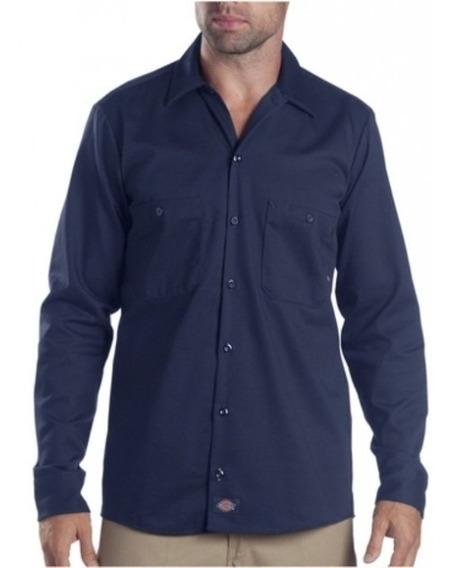 Dickies Ll307 Camisa Industrial Manga Larga 100% Algodón